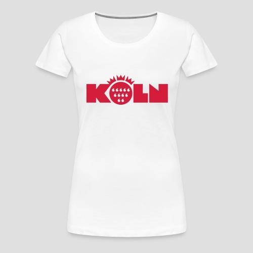Köln Wappen modern - Frauen Premium T-Shirt