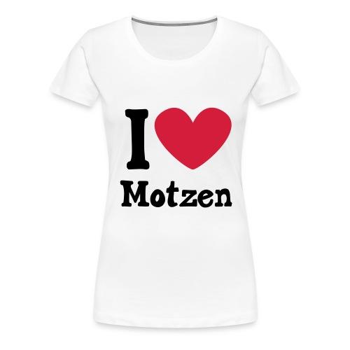 I Heart Motzen - Frauen Premium T-Shirt
