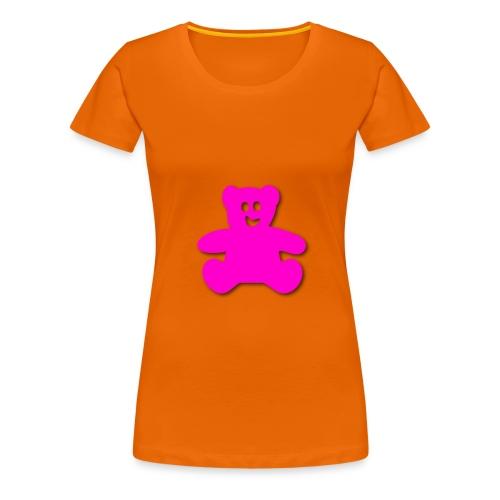 teddy bär - Frauen Premium T-Shirt