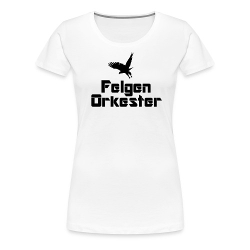 t skjorte sortlogo png - Premium T-skjorte for kvinner