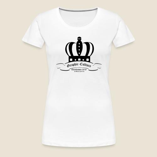 Krone Graphic-Culture - Frauen Premium T-Shirt