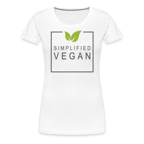 SIMPLIFIED VEGAN - T-shirt Premium Femme