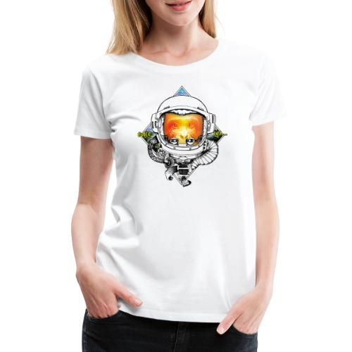 Ape meats Alien - Frauen Premium T-Shirt