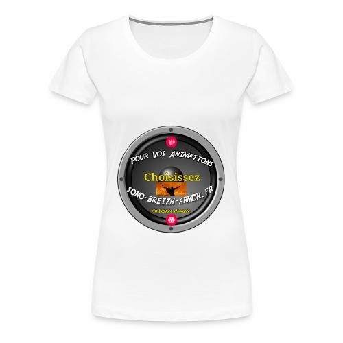 Breizh-Animation - T-shirt Premium Femme