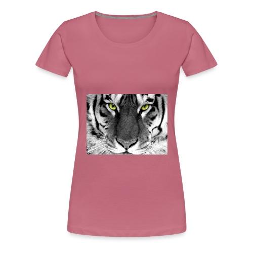 White Tiger jpg - Vrouwen Premium T-shirt
