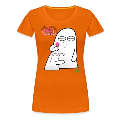Lenzuolo e il gelato alla menta - Maglietta Premium da donna