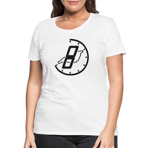 Official 8h Imola Logo - Frauen Premium T-Shirt