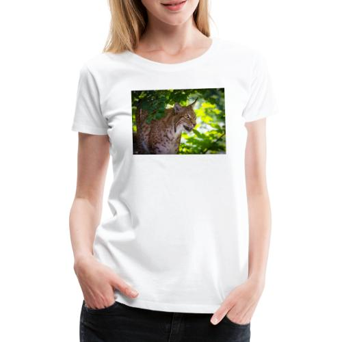 Luchs - Frauen Premium T-Shirt