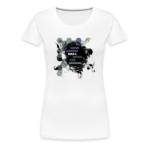 Das L Design Shirt - Frauen Premium T-Shirt