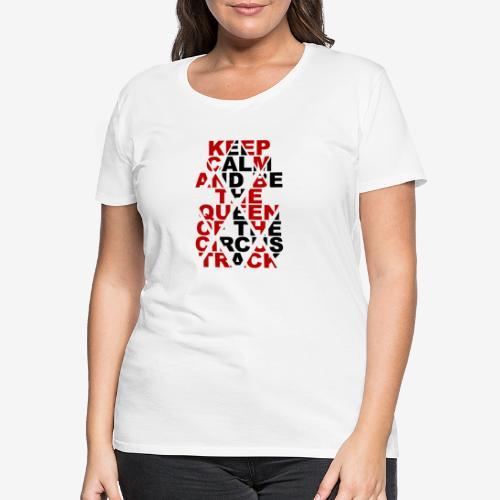 Queen Track - T-shirt Premium Femme