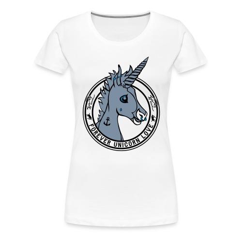 Colt - Unicorn Love (onwhite) - Frauen Premium T-Shirt