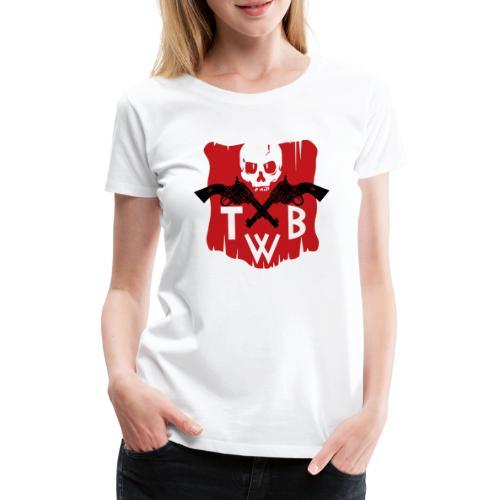 TWB logo - Maglietta Premium da donna