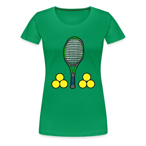 We love tennis - Frauen Premium T-Shirt