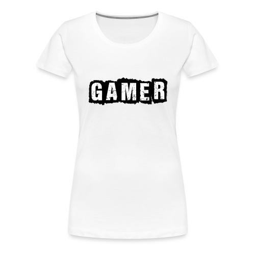 D 40 Gamer - Frauen Premium T-Shirt