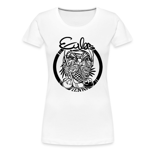 Eulers on White - Frauen Premium T-Shirt