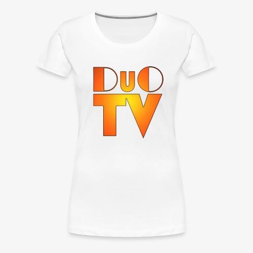 DuO TV Logo (Classic) - Frauen Premium T-Shirt