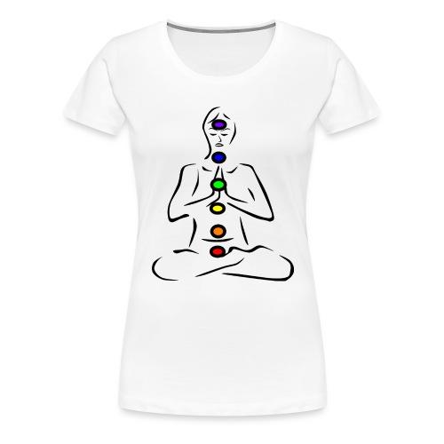 Chakras Chakren - Frauen Premium T-Shirt
