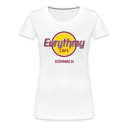 Eurythmy Cafe Dornach mehrfarbig - Frauen Premium T-Shirt