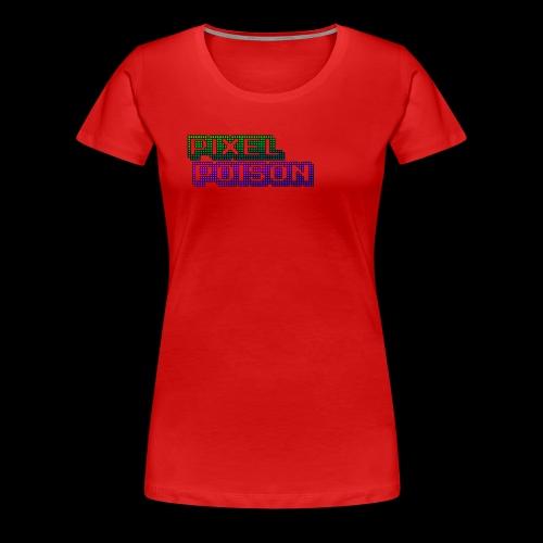 Pixel Poison Logo - Women's Premium T-Shirt