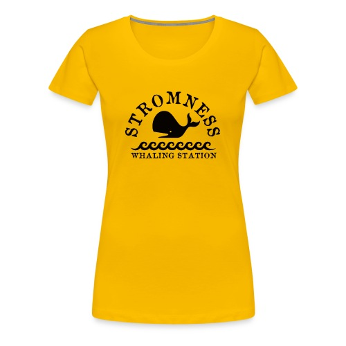 Sromness Whaling Station - Women's Premium T-Shirt
