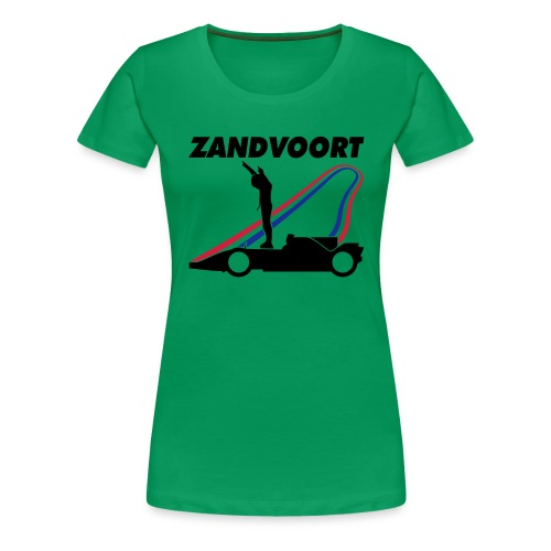 Zandvoort rood wit blauw - Vrouwen Premium T-shirt
