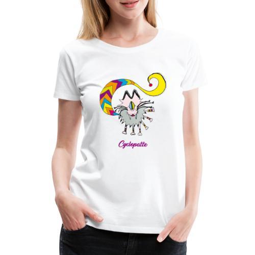 Cyclopatte - T-shirt Premium Femme