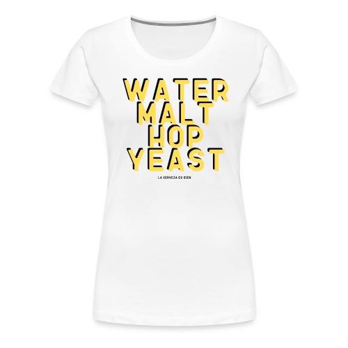 craft beer - Camiseta premium mujer