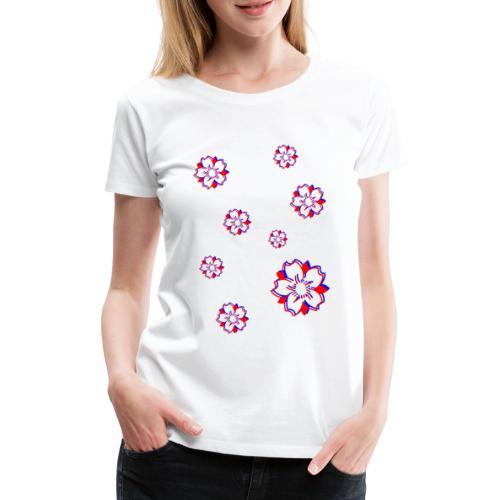 Sakura Psycho - T-shirt Premium Femme