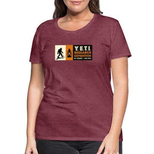 A la recherche du Yeti - T-shirt Premium Femme