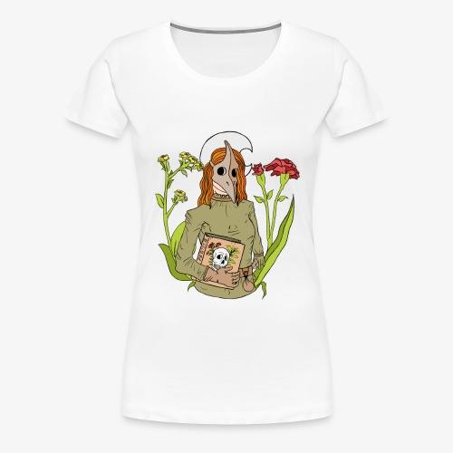 plague mask - color - Frauen Premium T-Shirt