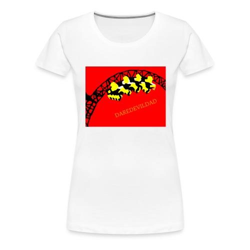 DareDevilDad - Women's Premium T-Shirt