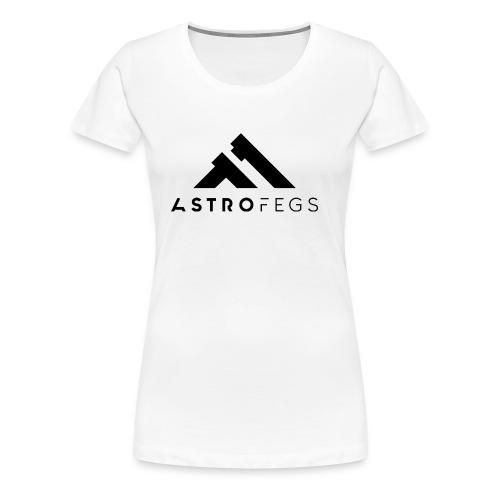 ASTROFEGS LOGO 01 - Premium T-skjorte for kvinner