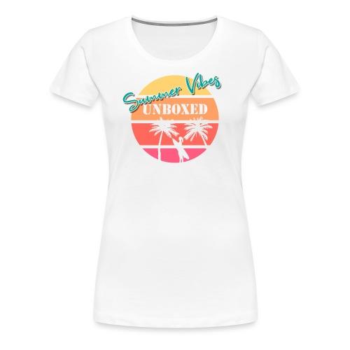 Summer Vibes UNBOXED - Frauen Premium T-Shirt