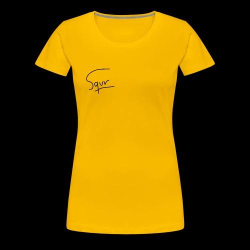 Basic Squr - Camiseta premium mujer