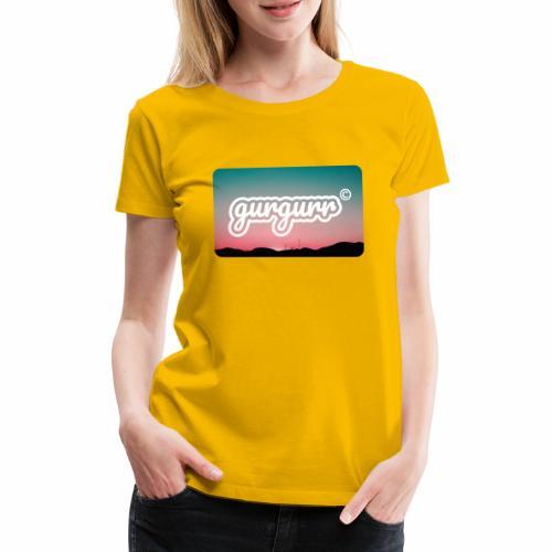 Kitschy Pigeon - Frauen Premium T-Shirt