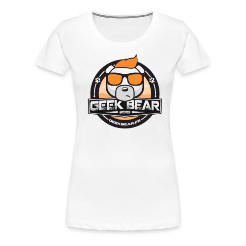 Geekbear classique Homme - T-shirt Premium Femme