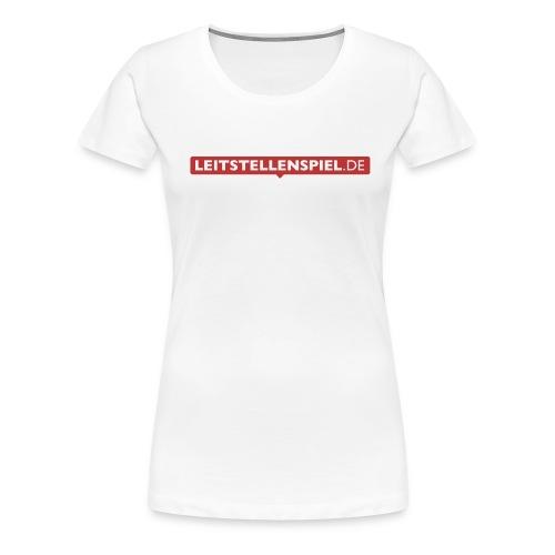 Leitstellenspiel - Frauen Premium T-Shirt