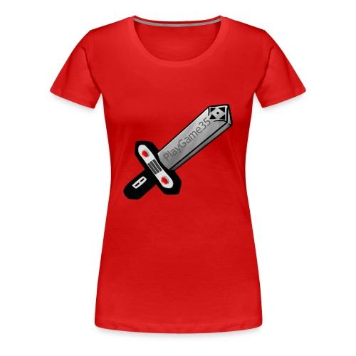Logo PlayGame35 - Maglietta Premium da donna