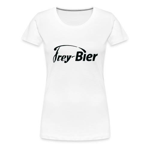 logo druck rans gif - Frauen Premium T-Shirt