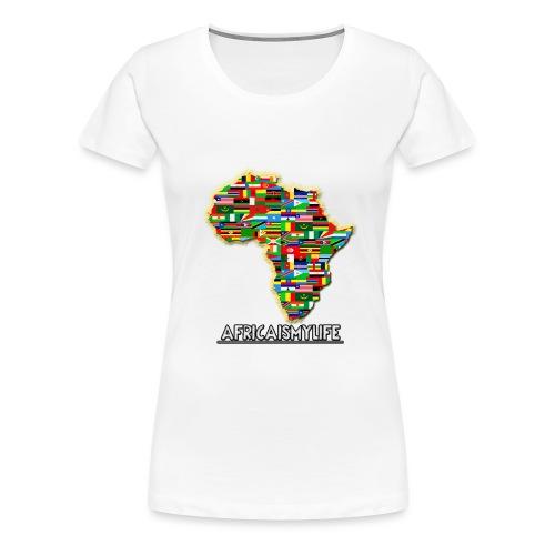 Africaismylife Logo - Women's Premium T-Shirt
