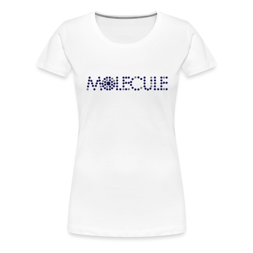 Molecule Recordings Logo - Women's Premium T-Shirt