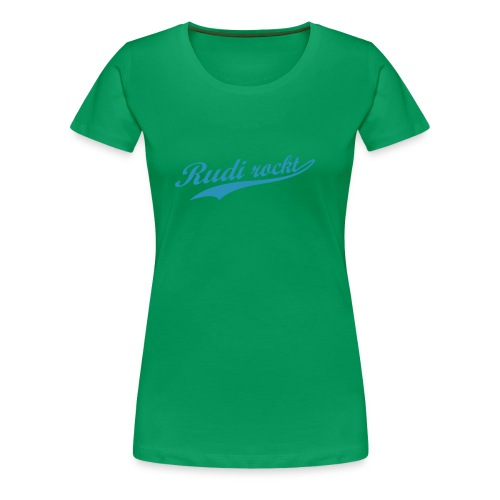 Rudi rockt Logo - Frauen Premium T-Shirt