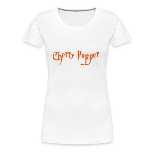 cherry vector - Women's Premium T-Shirt