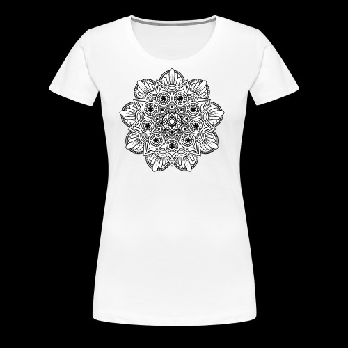 Mandala - Maglietta Premium da donna