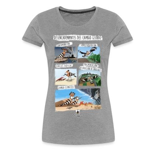Desencadenantes del Cambio Global. - Camiseta premium mujer