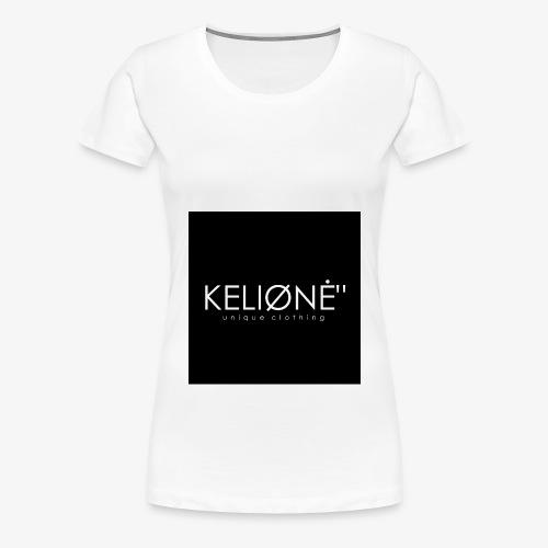 Black KELIØNĖ design - Women's Premium T-Shirt