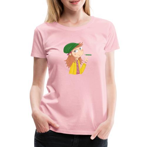 Ich bin eine Illustratorin - Frauen Premium T-Shirt