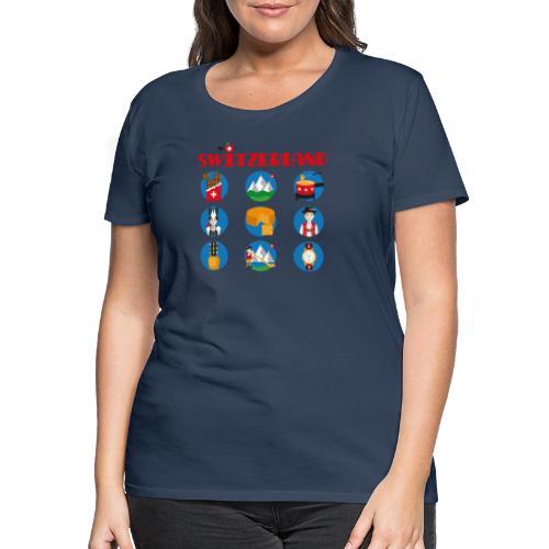 Switzerland - Frauen Premium T-Shirt