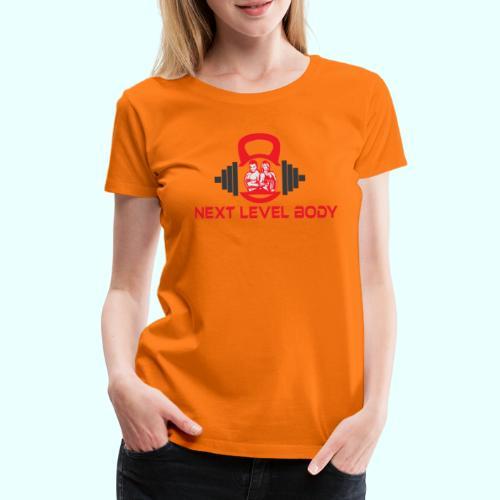 NEXT LEVEL BODY - Naisten premium t-paita