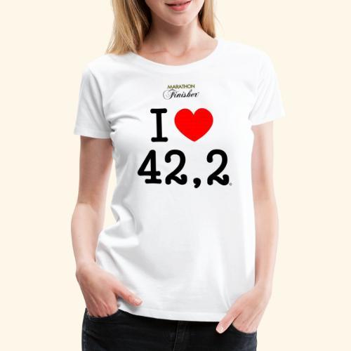I love 42 2 2 - Women's Premium T-Shirt